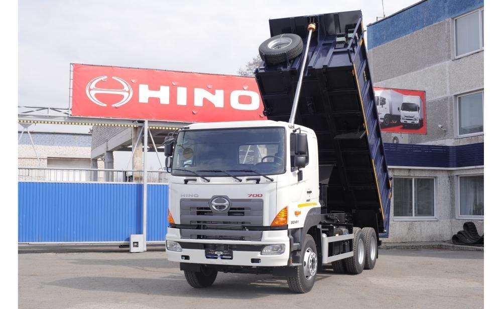Самосвалы Hino700 в наличии!